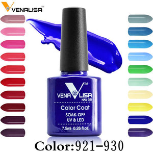 60 Color Nail art beauty DIY nail paint design Gel uv led 7.5ml nail art Enamel gel nails polish uv varnish lacquer gel