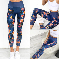 Women High Waist Sports Gym Yoga Running Fitness Leggings Pants Athletic Trouser - DealsBlast.com