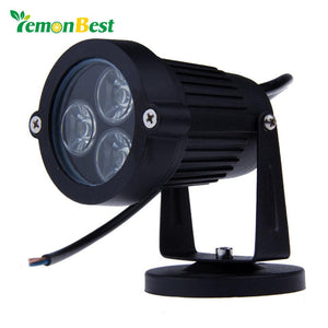 9W LED Lawn lamps Outdoor lighting IP65 Waterproof LED Garden Wall Yard Path Pond Flood Spot Light AC 110V 220V
