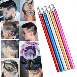 New professional magic engrave beard hair scissors Shavings Eyebrows Razor carve pen shears Tattoo barber hairdressing scissors - DealsBlast.com