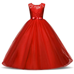 Kids prom dresses for girls long dresses for teenagers clothes gown ceremonies costumes 10 11 12 13 14 year - DealsBlast.com