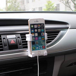 Mobile Phone Holder Adjustable Stretchable Air Outlet Mobile Phone Support 2.3-3.3inch For Cell Phone - DealsBlast.com