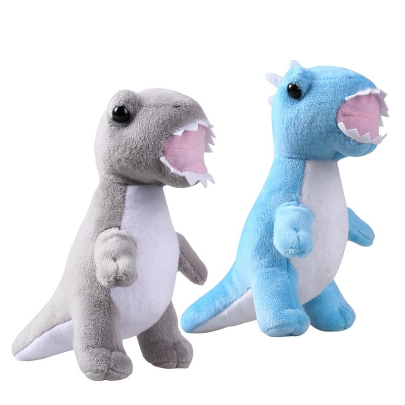 2PCS Cute Cartoon Dinosaur Animal Plush Toys Stuffed Cushions Adorable Gift for Kids Children - DealsBlast.com