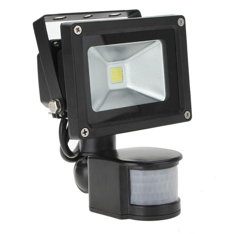 10W White 800LM PIR Motion Sensor Security LED Flood Light 85-265V - DealsBlast.com