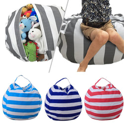 New Stuffable Animal Toys Storage Bean Bag Stuffed Children Plush Toy Organizer Creative Chair for Kids - DealsBlast.com