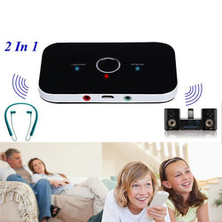 2 In 1 Wireless Bluetooth4.0 Transmitter + Receiver A2DP Stereo Audio Music Adapter - DealsBlast.com