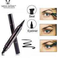 Makeup Liquid Rose Eyeliner Pencil maquiagem Quick Dry Waterproof wing Eye Liner With Miss Stamp Eye Pencil - DealsBlast.com