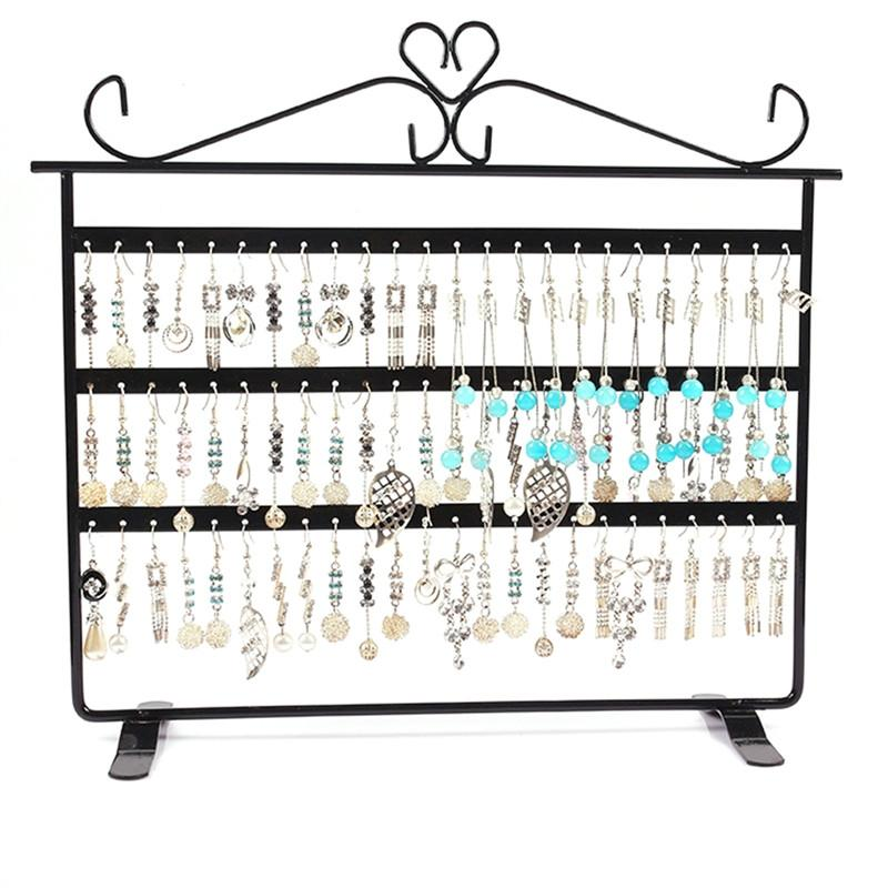 72 Holes Earrings Necklace Jewelry Copper Plated Display Stand Rack Holder - DealsBlast.com