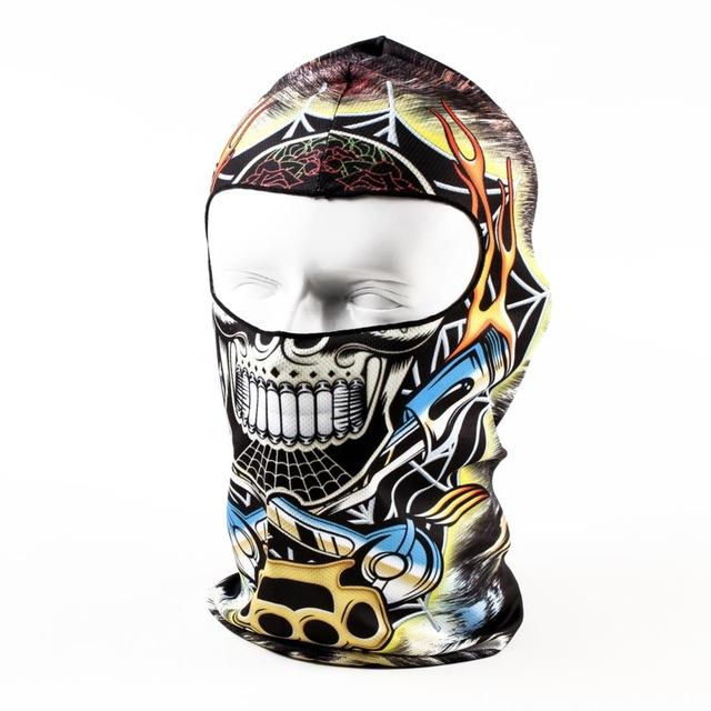 Adult Men Eanie Hat New Hot Sale 3d Hood Ski Balaclava Full Face Skull Mask Outdoor Sport Bicycle Cycling Motorcycle Masks - DealsBlast.com