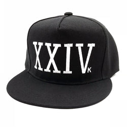 Unisex Bruno Mars Baseball Cap 24k Magic Gorras K-pop Cotton Bone Rapper XXIV Dad Hat Hip Hop Snapback Sun Caps Casquette