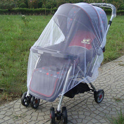 Brand New Newborn Toddler Infant Baby Stroller Crip Netting Pushchair Mosquito Insect Net Safe Mesh Buggy White