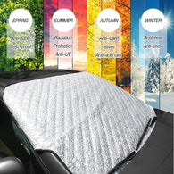 Universal 4 seasons Car Front Windshield Anti Snow Ice Shield Cover Frost Protector Front Window Screen Auto Sun Cover