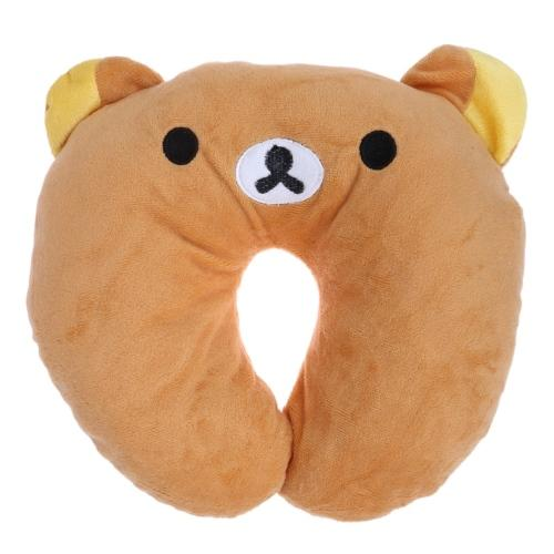 Hot 9 styles Multi-Color Cartoon Animal U Shaped Travel Pillow Neck Pillow Support Headrest Cushion For Car Airplane - DealsBlast.com