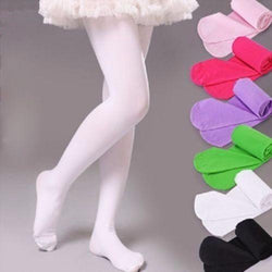 Cute Girls Baby Kids Toddlers Cotton Pantyhose Pants Cotton Tights Stockings Hose Ballet Black Pink Red White