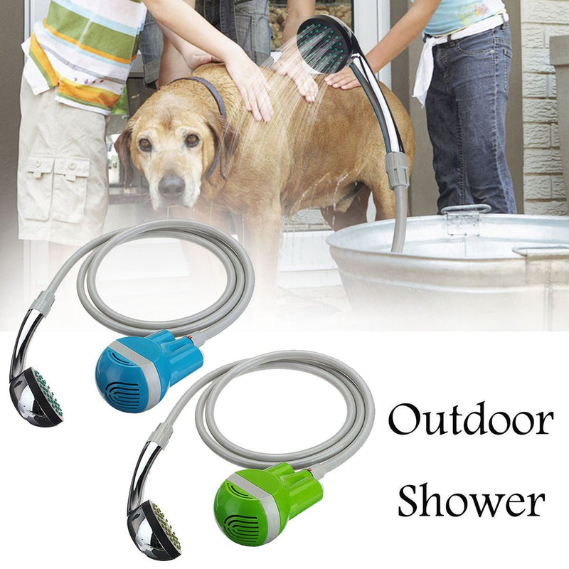 Multifuntion Outdoor shower car baby pet shower washing camping Garden furniture Portable USB Shower Water Pump Rechargeable - DealsBlast.com