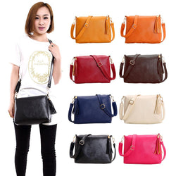 Popular Handbags Mini PU Messenge Bag Small Diagonal Women One Shoulder Tassel Bags - DealsBlast.com