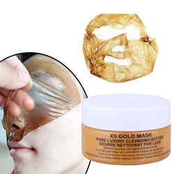 24K Gold Mask Collagen Face Mask Crystal Powder Moisturizing Whitening Facial Mask Wrinkle Lifting Smooth Tear Off Masks new