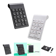 Portable 2.4G Wireless Digital Keyboard USB Pad 18 Keys Keypad For Laptop PC Notebook Desktop - DealsBlast.com