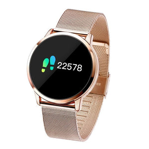 Smart Watch Q8 Smart Fashion Electronics Men Women Waterproof Sport Tracker Fitness Bracelet Smartwatch Wearable Device