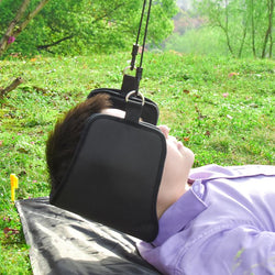 Neck Massager Hammock Traction Device Cervical Posture Alignment Support Pressure Neck Pain Relief Hammock Massage - DealsBlast.com