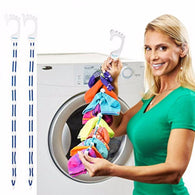 68CM Socks Cleaning Auxiliary Clotheslines Rope Color Random Socks Hanger Washing Clothing Tools Laundry Storage & Organization