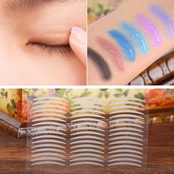 240 Pair M Makeup Clear Beige Eyelid Stripe Big Eyes Decoration Invisible Adhesive Double Fold Shadow Eyelid Sticker Eyelid Tape