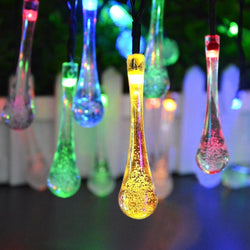 Solar Power LED Lawn lamp LED String Fairy lights Outdoor Garden Landscape lighting Christmas Holiday Party Wedding Decoration