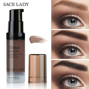 Henna Shade For Eyebrow Gel Waterproof Makeup Tint Natural Eye Brow Enhancer Brand Make Up Cream Long Lasting Cosmetic