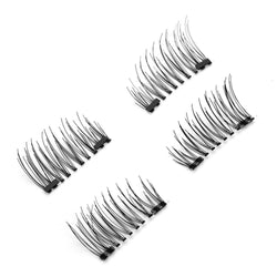 False Eyelashes Makeup 6D Magnetic Eye Lashes Double Magnet Fake EyeLashes Hand Made Strip Lashes cilios posticos