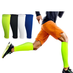 1Pc Men Cycling Leg Warmers Compression Shin Guard Running Leg Sleeve Football Basketball Calf Sleeves Sports Safety