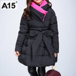 Toddler Girls Winter Coats and Jackets Children Girls Parka Spring Autumn Warm Girls Clothes 2018 Big Teen Age 6 8 10 12 14 Year