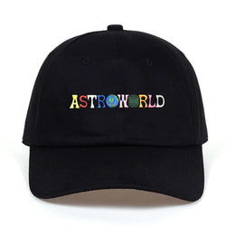 Travis Scott latest album ASTROWORLD Dad Hat 100% Cotton High quality embroidery Astroworld Baseball Caps Unisex