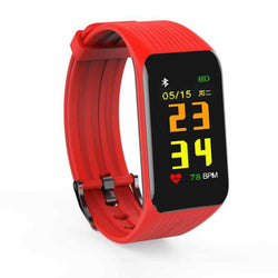 Smart Wristband Smart Bracelet Multifunction Pedometer Fitness Smartwatch Colorful Screen K1 PLUS Sleep Monitoring