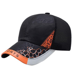 Summer Running Sport Tennis cap Baseball Visor Hat Mesh Peaked Cap Breathable Men Women Mesh Cap Baseball-Caps