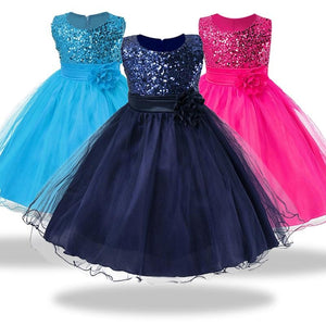 1-14 yrs teenagers Girls Dress Wedding Party Princess Christmas Dresses for girl Party Costume Kids Cotton Party girls Clothing