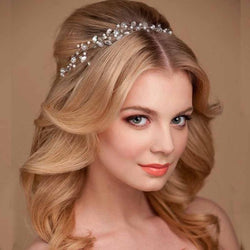 Hair Jewelry Summer Bridal Hair Accessories New Tiara Head Piece Fashion Hair Pins Wholesale Bridal Tiaras Crowns Headbands - DealsBlast.com