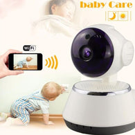 720P HD Wireless Baby Monitor Portable WiFi IP Smart Night Vision Baby Home Viewe Audio Record Surveillance Home Security Camera
