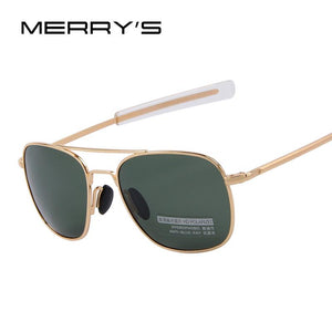 New Army MILITARY AO Sunglasses American Optical Glass Lense Alloy Frame Quality Polarized Sunglasses Oculos De Sol