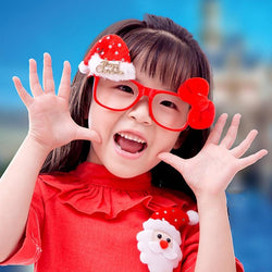 Christmas Gifts Toys For Kids Children Baby Glasses Snowman Santa Claus New Year Decorations Eyeglass Xmas Party