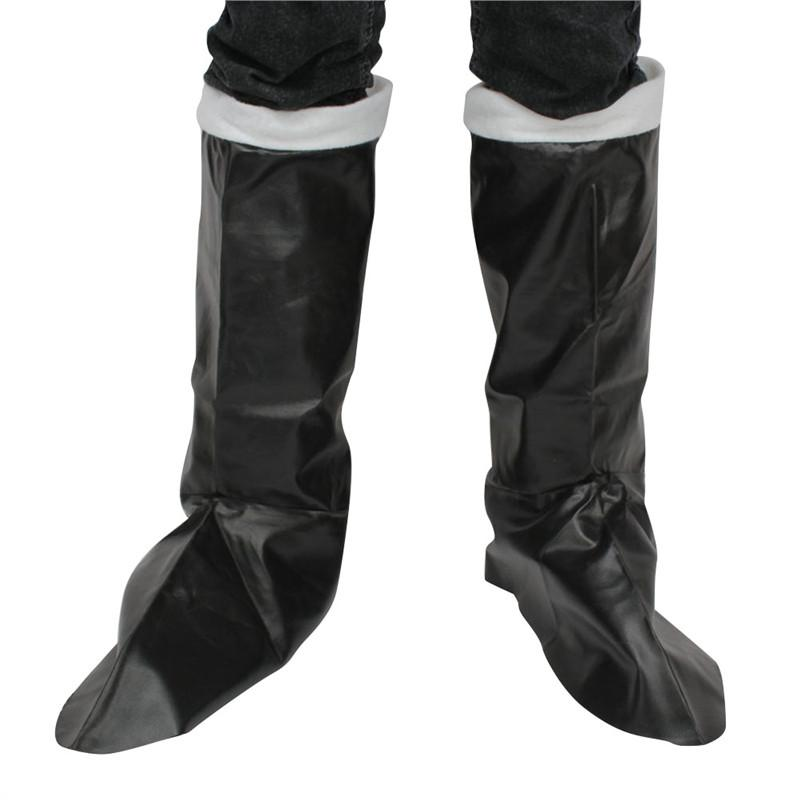 1 Paris Adult PU Artificial Leather Knee-high Boots Covers for Christmas Costume Perfomace