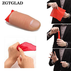 Magic Thumb Tip Trick Rubber Close Up Vanish Appearing Finger Trick Props Party Little Gifts