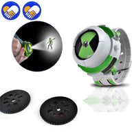 Hot BAN 10 Genuine / ben 10 watches / ben10 Projector medium child toys Alien Force Omnitrix Action Model Toy Watch For Kid