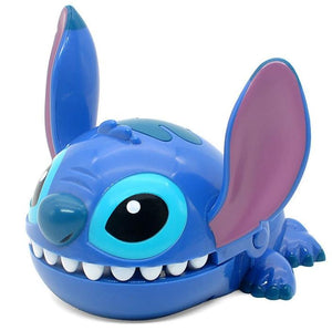 Cute Lilo Stitch Bite Cartoon Anime PVC Figure Toy Model Children Birthday Gift Home Decoration Collection