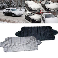 160x70cm Universal Winter Car Front Windshield Anti Snow Cover Window Screen Shield Sun Shade Cover Protector Four Season Use