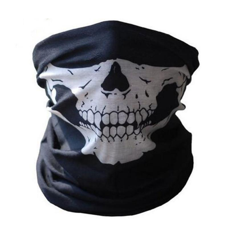 Motorcycle Skull Ghost Face Windproof Mask Scarf - DealsBlast.com