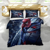 3D Bedding Set  Duvet Cover Pillowcase  queen king Size Gifts for Children in Superman Cartoon Games