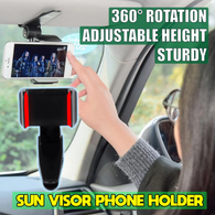 Sun Visor Phone Holder