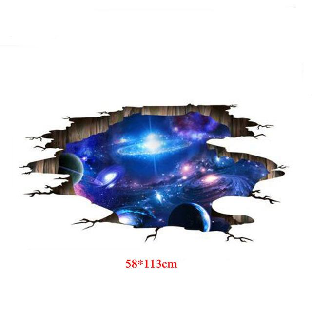 3D Space Sticker - DealsBlast.com