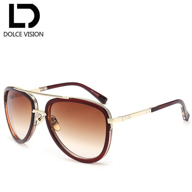 Sunglass Women Gradient Lens Brand Design Shades Ladies Aviator Sun Glasses For female UV400