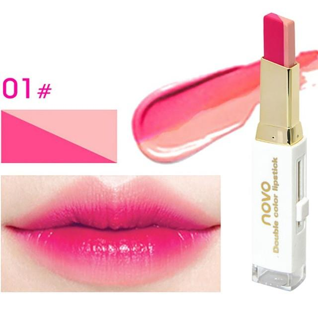 8 Colors Beauty Makeup Double Color Gradient Long Lasting Waterproof  Lipstick Gloss Makeup Lips Cosmetic - DealsBlast.com